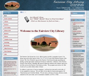 Fairview Public Library Home Page
